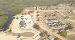 Construction of a border post between Zambia & Angola